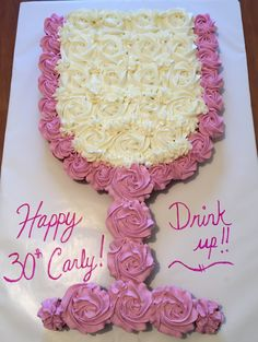 Image result for cupcake cake wine glass