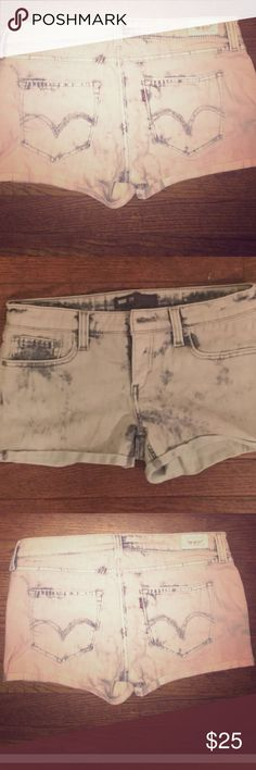 One of a Kind - Levi's Shorts Tie dye! Levi's Shorts Jean Shorts