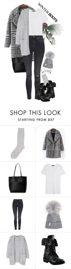 """OOTD"" by yagmur ❤ liked on Polyvore featuring Pepper & Mayne, Street Level, rag & bone/JEAN, Topshop, MANGO and Bakers"