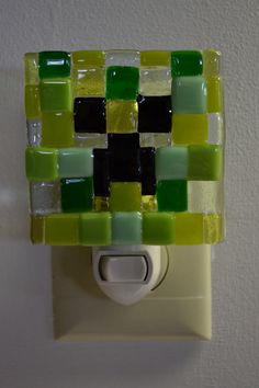 Minecraft Creeper Night Light for a teenagers room!!!!!!!!!!!!! Hey, I don't care!!!!!!!! I'd use it!