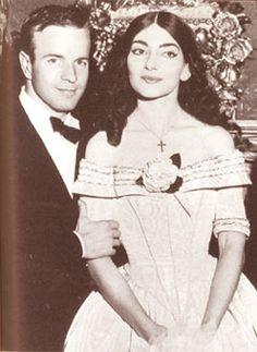 Maria Callas here with Franco Zeffirelli