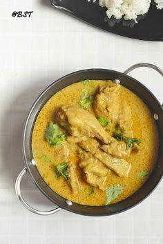 Caril De Galinha ~ Goan Chicken Curry - The Big Sweet Tooth Indian Chicken Recipes, Goan Recipes, Curry Recipes, Indian Food Recipes, Cooking Recipes, Ethnic Recipes, Goan Chicken Curry, Tiffin Recipe, Cooking Challenge