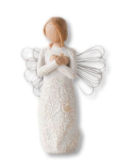 Willow Tree Rememberance Angel Willow Tree Figurines, Poppy, Art Work, Sculptures, Angeles, Christmas Gifts, Plates, Ornaments, Shop