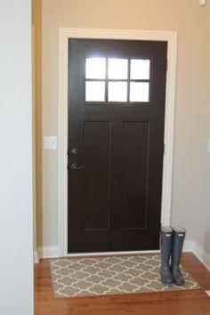 Craftsman Fiberglass Front Door