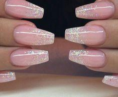 stylish squareletto nails