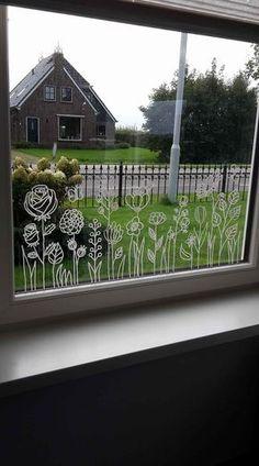 Flower garden # frame drawing by Pytsje Tryntsje W - crafting ideas, garden . - Flower garden # frame drawing by Pytsje Tryntsje W – craft ideas, garden -