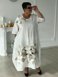 Платье белое с цветами – купить в интернет-магазине на Ярмарке Мастеров с доставкой