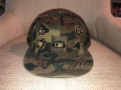 2202d5f9 Cooperstown collection camo hat size 7 1/2 #fashion #clothing #shoes #