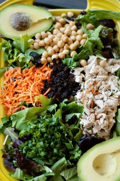 Green Salad Recipe | Reluctant Entertainer