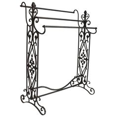 19th Century Iron Quilt and Blanket Rack | 1stdibs.com