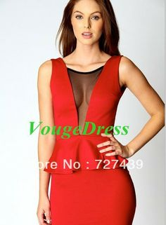2 piece bandage dress v-neck sexy clubwear | Плаття | pinterest