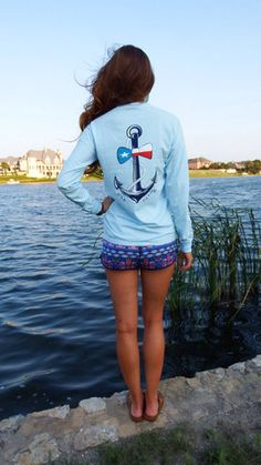 Anchor BowTie Long Sleeve – USA Palm