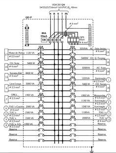 plano comun de una casa con cuadro de cargas  plantas y