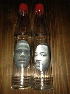 Harriet Tubman and Rosa Parks Salt and Pepper World Shakers 8 Bucks by CalacaCreations on Etsy