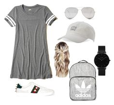 """Untitled #55"" by onaademi on Polyvore featuring Hollister Co., Gucci, Topshop, Sunny Rebel, Body Rags and CLUSE"