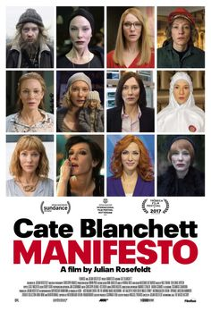 Julian Rosefeldt: MANIFESTO Feature film starring Cate Blanchett Opens at the NuArt May 26 for a one-week engagement By Shana Nys Dambrot Visual artist Julian Rosefeldt is an acclaimed and ambitiou…