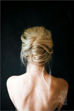 messy+french+twist+updo