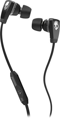 Skullcandy Merge Stereo Headset for Phones - Retail Packaging - Black Chrome  Control your device with one button mic remote Interchangeable sizes for a  ... 79e4dbc482b14