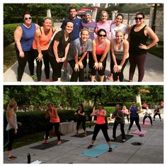 What a great turn out for a 9:30AM TBC class on the Katy Trail! You are all awesome!!!