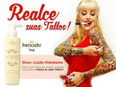 hinode oportunidade saude e beleza: Hidratante Strax Hinode Renova A Cor Da Sua Tattoo...