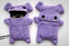 Fellfische  fluffy Iphone 4 3 Cellphone Case  Lilac by IYUIYU, €22.00