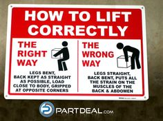 The Proper Way to Lift