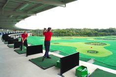 Driving range. If there's one in your area, go to Top Golf.
