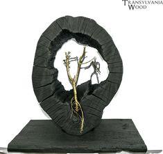 SACRIFICE Hand carved modern art Large wood sculpture Shou sugi ban statue Unique wooden slab on stand Natural home decor Housewarming #LargeWoodCarving #ContemporaryArt #AbstractArtGift #ModernArtDecor #UniqueArtStatue #HomeDecorArt #NaturalWood #ConstructivismArt #OriginalSculpture #ShouSugiBan