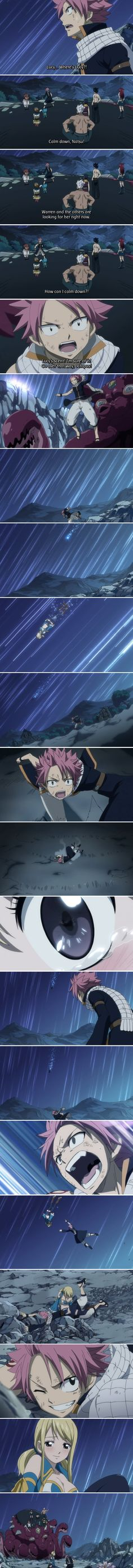 NaLu!!!! This actually was the moment I became a NaLu shipper.....I was a little late.....