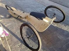 Guepardo human powered vehicle from Argentina Photo