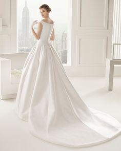 Casandra novia tejido otoman