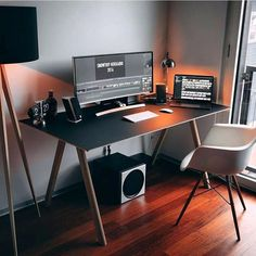 This Modern Computer Desk Is Compact In Size And Ideal For Smaller Es Such As A Bedroom Dorm Apartment Or Home Office