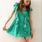 Vestidos cortos casuales elegantes de moda verano  http://vestidoparafiesta.com/vestidos-cortos-casuales-elegantes-de-moda-verano/