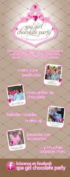 Spa para Niñas, un concepto innovador para Cumpleaños, Pijama Party o Reunion con amigas