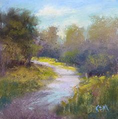 Painting My World: A Compact Plein Air Set Up for Pastel