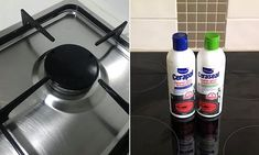 The $6 'miracle' cleaning product that leaves filthy scratched cooktops sparkling | Daily Mail Online Natural Cleaning Products, Spray Bottle, Cleaning Supplies, Sparkle, Leaves, Daily Mail, Mail Online, Health, Health Care