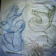 Medusa Tattoo, 1 Tattoo, Snake Tattoo, Tattoo Drawings, Snake Drawing, Snake Art, Japanese Tattoo Art, Asian Tattoos, Geniale Tattoos