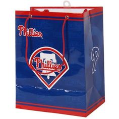 MLB Philadelphia Phillies Gift Bag, Medium  http://allstarsportsfan.com/product/mlb-philadelphia-phillies-gift-bag-medium/  Gift Bag Medium Philadelphia Phillies MLB