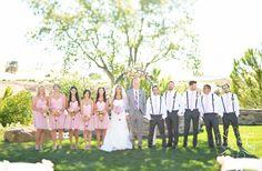 Pink Wedding Ideas   Jessica Frey Wedding Photography Blog