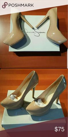 Nude Jessica Simpson Pumps Nude is the new black. Brand new Jessica Simpson pumps Jessica Simpson Shoes Heels