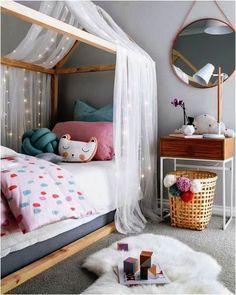 PRINCESINHA MODERNA | Inspiração para o quarto da menina. Com elementos mais lúdicos na decoração e móveis mais atuais, está feita uma nova versão do sonho de princesa #inspiracao #decoracao #quartodemenina #DIY #ficaadica #SpenglerDecor #ficaadica
