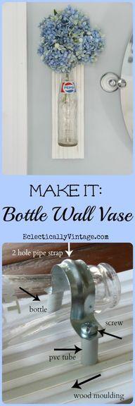Bottle Crafts Idea -
