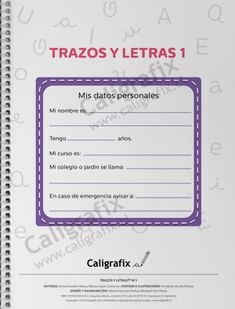Trazos y Letras Nº1 Good Tutorials, Messages, Invitations, Reading, Bullet Journal, Album, Facebook, Texts, Shape