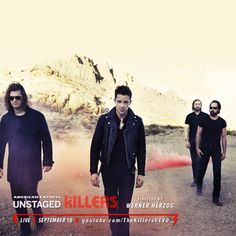 #AmexUNSTAGED with the Killers, tune in tonight, 9/18.