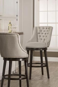 5993830 in  by Hillsdale Furniture in Sumiton, AL - Halbrooke Swivel Bar Stool