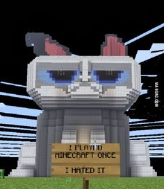 Funny Technology - Google+ (The quote is totally impossible in my opinion...I ❤ minecraft!!!!!)