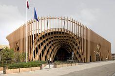 Editor's Choice Honorable Mention: France Pavilion  Client: FranceAgriMer  Design: Agence Laverne Paysagistes; Studio Adeline Rispal; XTU Architects Fabrication: Cooperativa Muratori & Cementisti (CMC di Ravenna)
