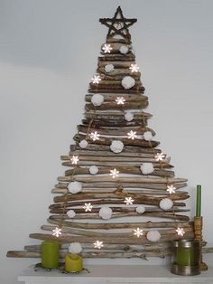 Creative DIY Christmas Tree Ideas -Refurbished Ideas