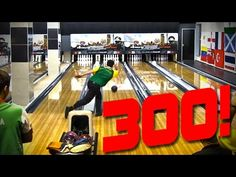 Jason Belmonte bowls a 300 at the 2011 Bowling World Cup in South Africa