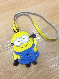 Inspired Cartoon Character  Despicable Dave the by leatherprince, $38.00